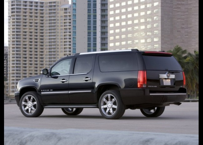 CADILLAC Escalade Long (черный)-5