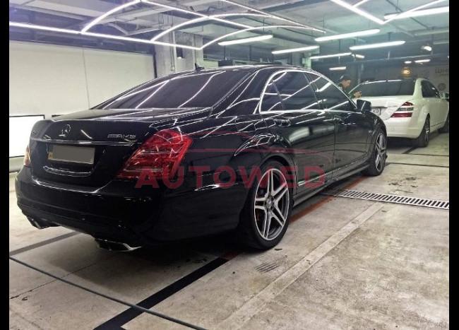 Mercedes w221 S63L (v12) AMG-3