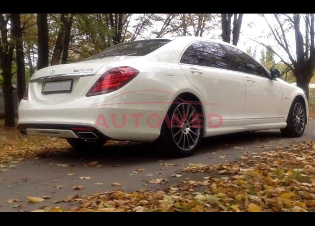 Mercedes w222 S63L (белый)-5
