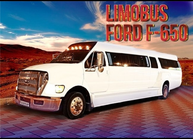 Limo-Bus FORD F-650 (25 мест)