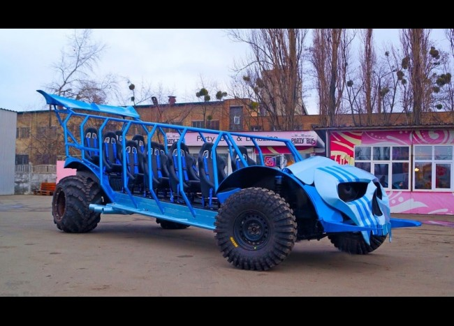 MONSTER BUGGY (11 мест)