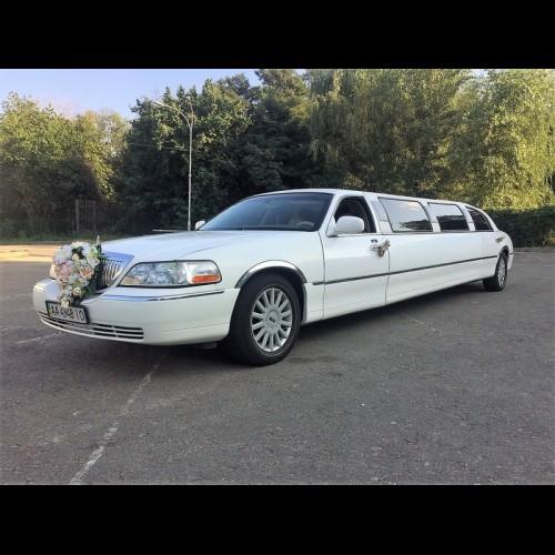 Лимузин Lincoln (белый)