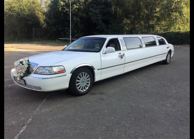 Лимузин Lincoln (белый)-1