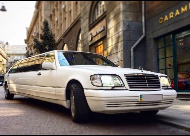 Лимузин MERCEDES w140 S500