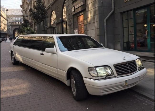 Лимузин MERCEDES w140 S500-2