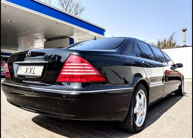 Лимузин Mercedes w220-3