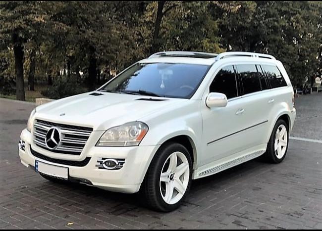 MERCEDES GL 550 (белый)