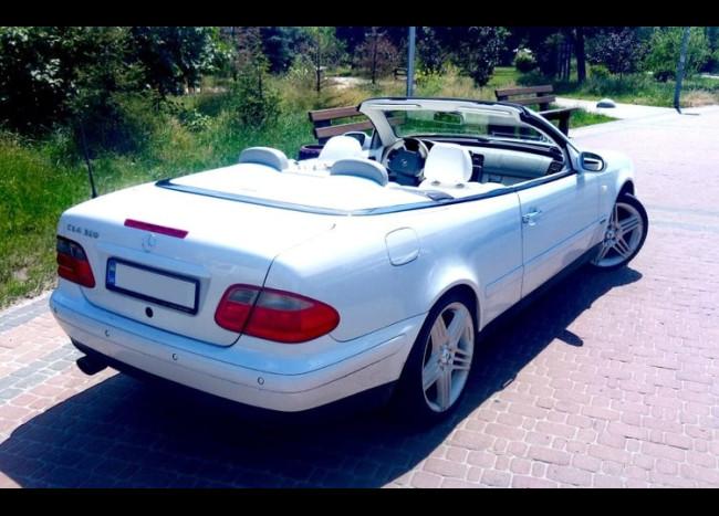 Mercedes CLK Cabriolet-4