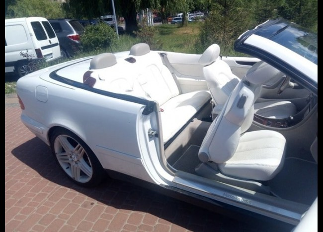 Mercedes CLK Cabriolet-6