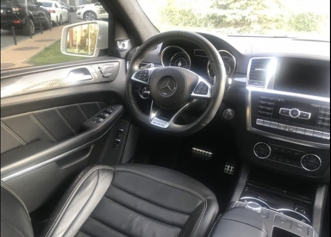 Mercedes GLS 63 AMG (белый)-3