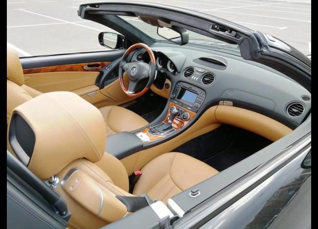 Mercedes SL кабриолет-4