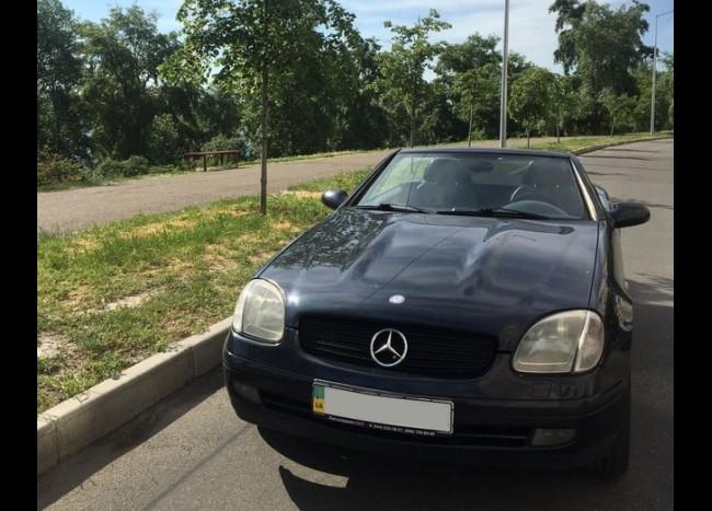Mercedes SLK кабриолет
