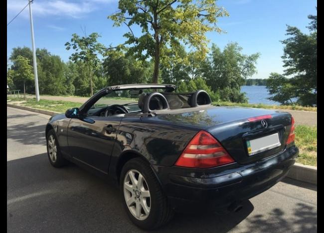 Mercedes SLK Cabriolet-2