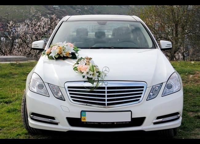 Mercedes w212 E350 (белый)
